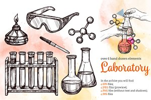 Laboratory Sketch Set