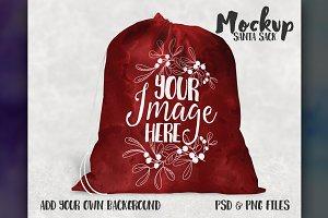 Santa Sack Mockup