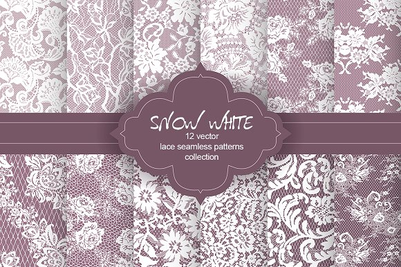 Snow White Lace Collection
