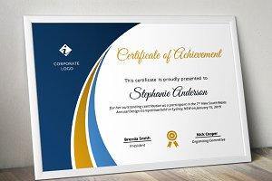 Modern Certificate Template (pptx)