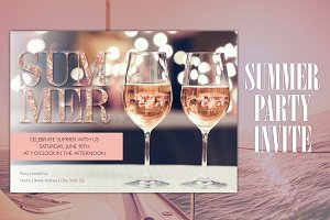 Glamourous Summer Wine Party