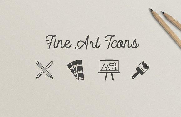 Fine Art Designer Icons