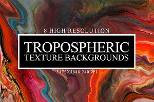 8 Tropospheric Texture Backgrounds