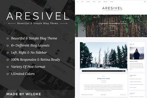 Aresivel -WordPress Blog Theme
