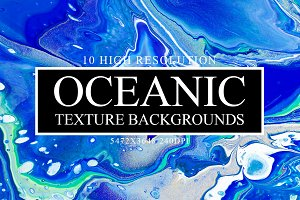8 Oceanic Texture Backgrounds