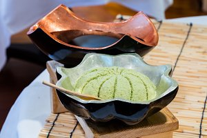 Wasabi in bowl