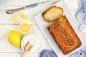 coconut citrus cake