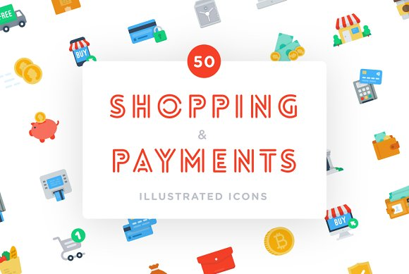 Shopping And Payments Icons