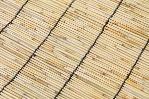 Japanese bamboo curtain