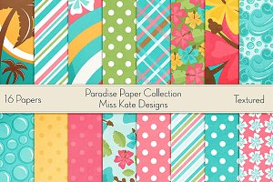 Paradise Digital Paper Collection