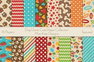 Dog Gone Cute Paper Collection