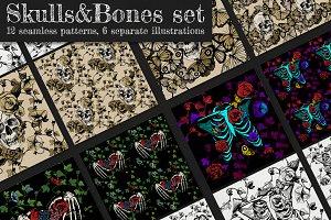 Skulls & Bones set