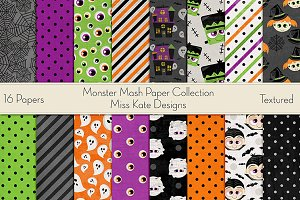 Monster Mash Paper Collection