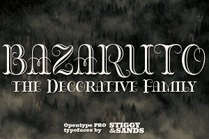 Bazaruto Decorative Family