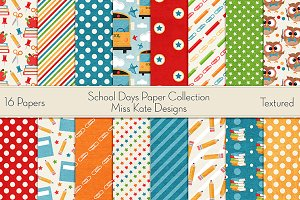 School Days Paper Collection