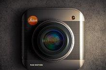 Leica iOS ICON PSD