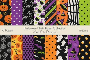 Halloween Night Paper Collection