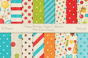 Happy Birthday Paper Collection