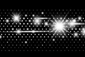Disco lights design background