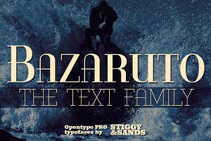Bazaruto Text Family