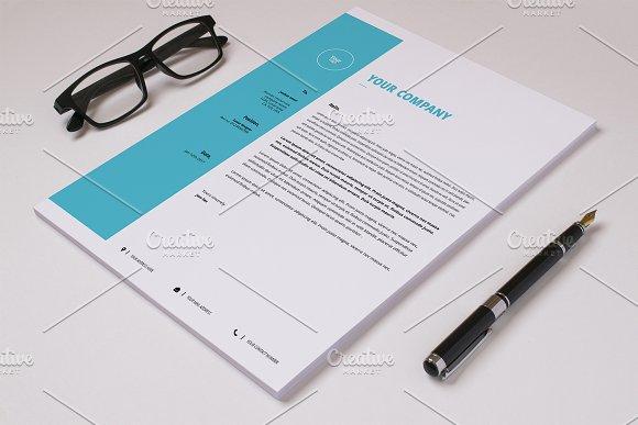 Business Letterhead Template-V11