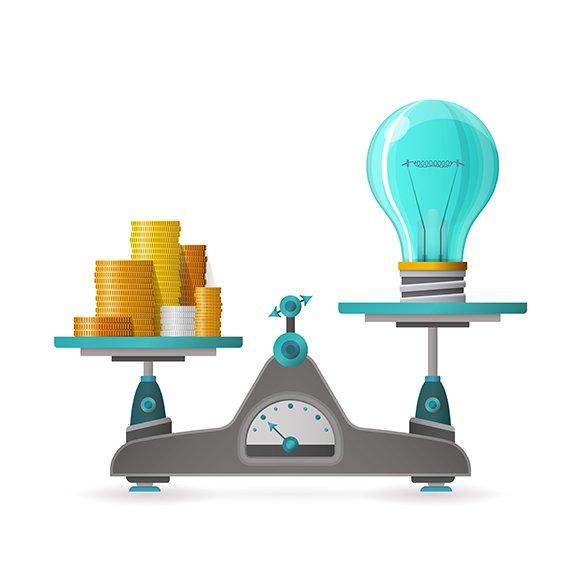 Profitable Idea Concept