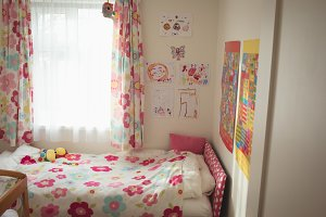 Interior of kid room