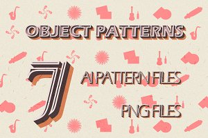 7 Object pattern pack