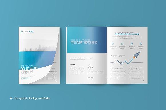 Download A4 Brochure / Catalog Mockup