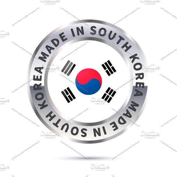 Metal Icon Made In South Korea