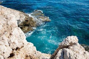 Beautiful sea and sea caves