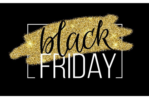 Black Friday Lettering Sale Discoun…