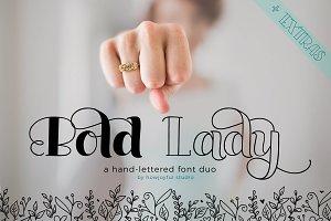 Bold Lady Font duo