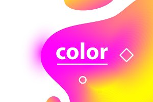 Color gradient blobs