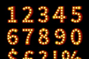 Glowing Numbers