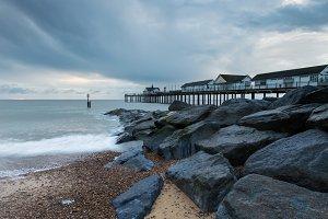 Rocks By Southwold Pier