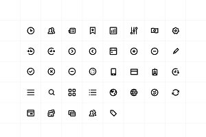 User Interface Icons - Sketch
