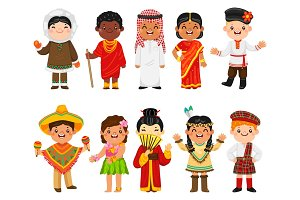 Children of Different Nationalities