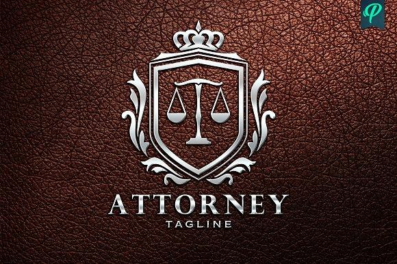 Attorney Lawyer Logo Template