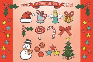 12 Christmas Icon