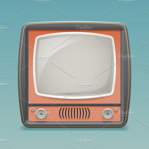 Vintage Old TV