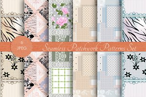 SALE PATCHWORK seamless pattern vol3