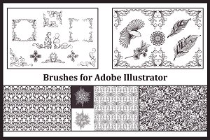 Brushes for Adobe Illustrator