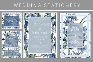 Iris & Thistle Wedding Stationery