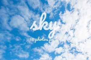 Blue Sky : Set of 15