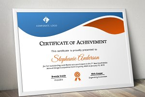 Beautiful simple certificate (pptx)