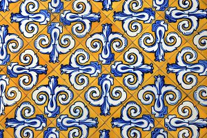 Spain, typical ceramic tiles