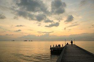 Beautiful sunset,includes 4 photos.