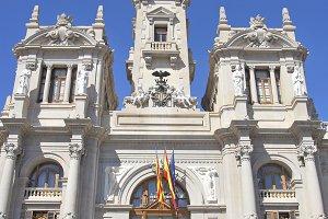 Valencia town hall, Spain