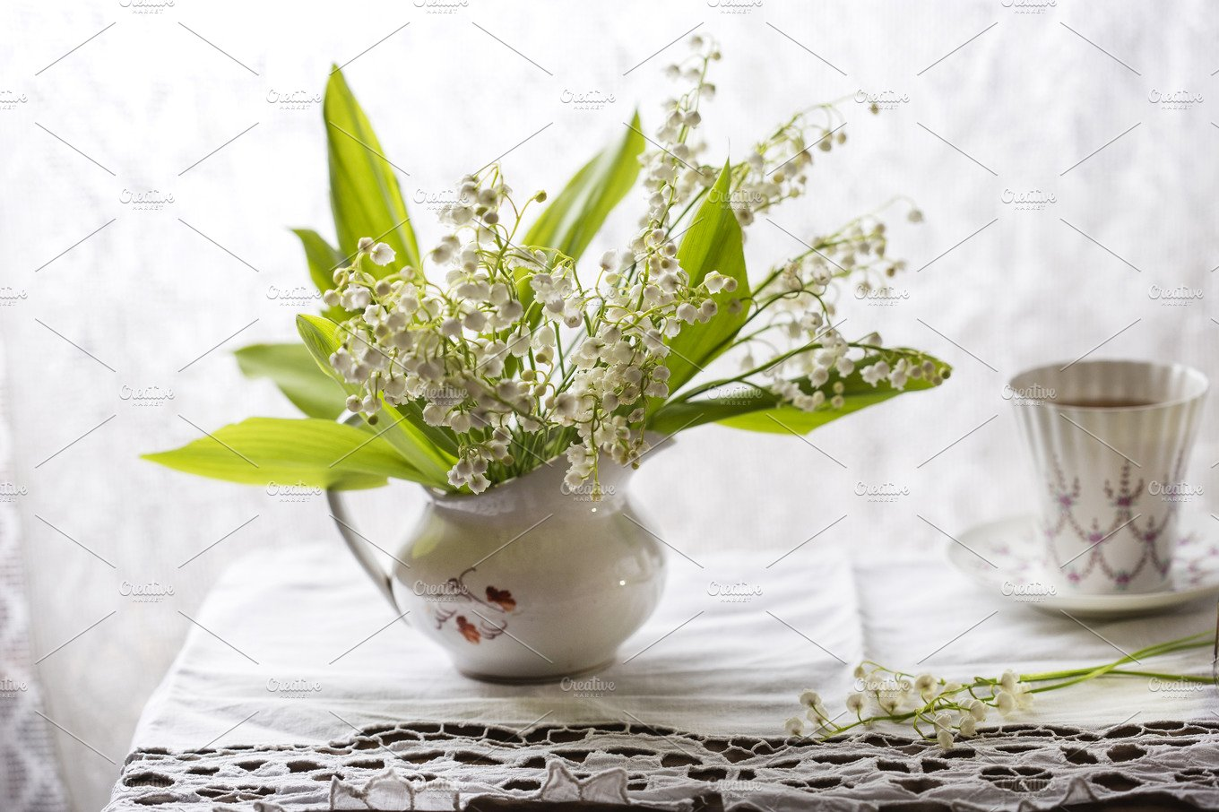 Lily of the valley bouquet nature photos creative market reviewsmspy